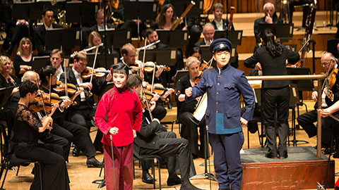Concert to Commemorate the 70th Anniversary for the Victory of the Chinese People's Anti-Japanese War and The World Anti – Fascist War