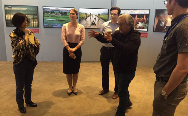 """Silk Road Journey"" Photograph Exhibition Tour in USA"